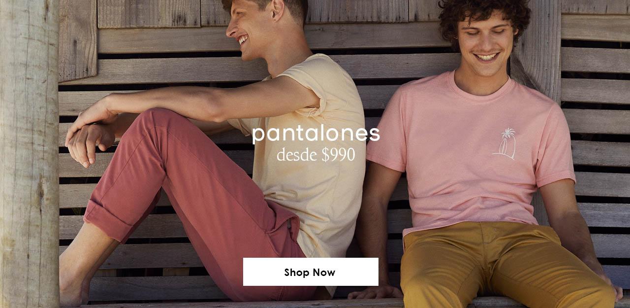 Pantalones SS20