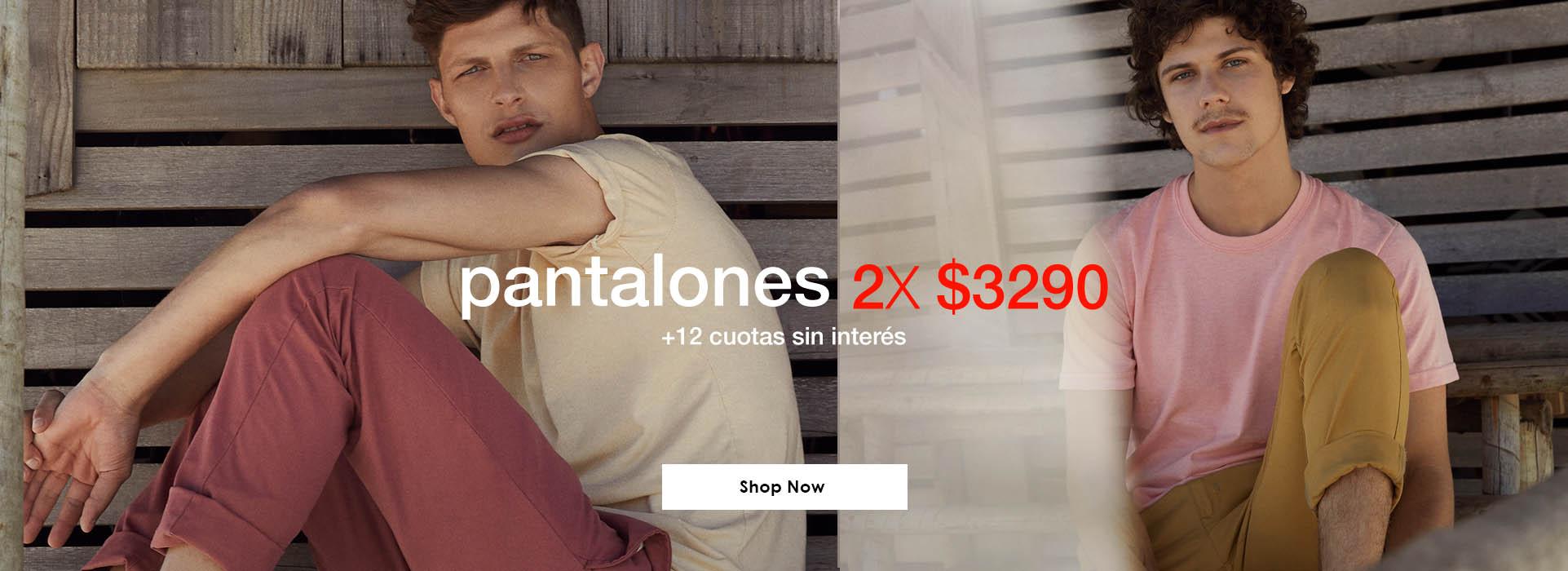 Promos- Pantalones 2x