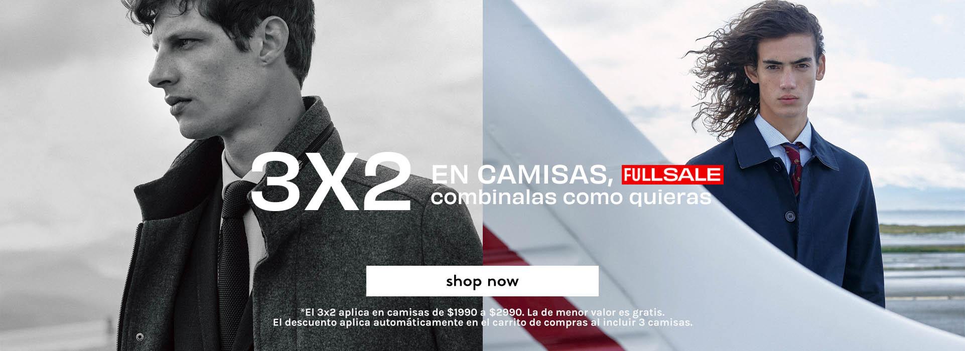 3X2 CAMISAS