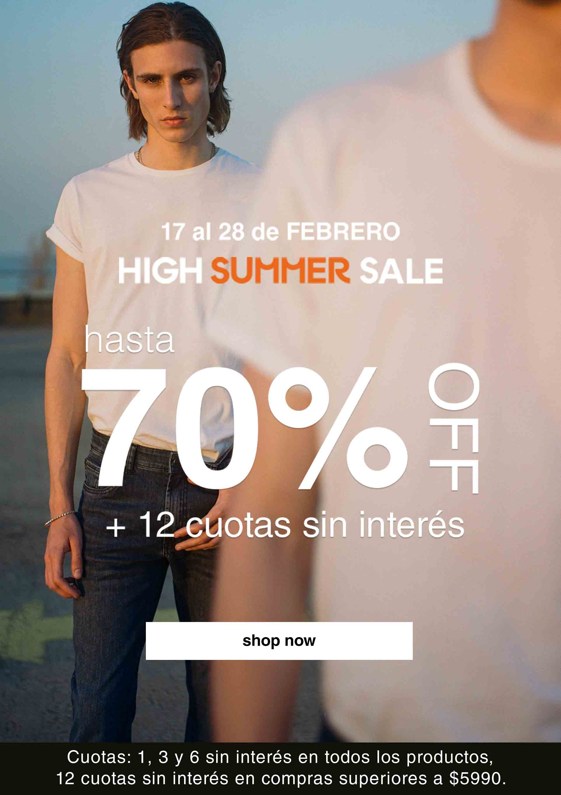 HIGH SUMMER SALE