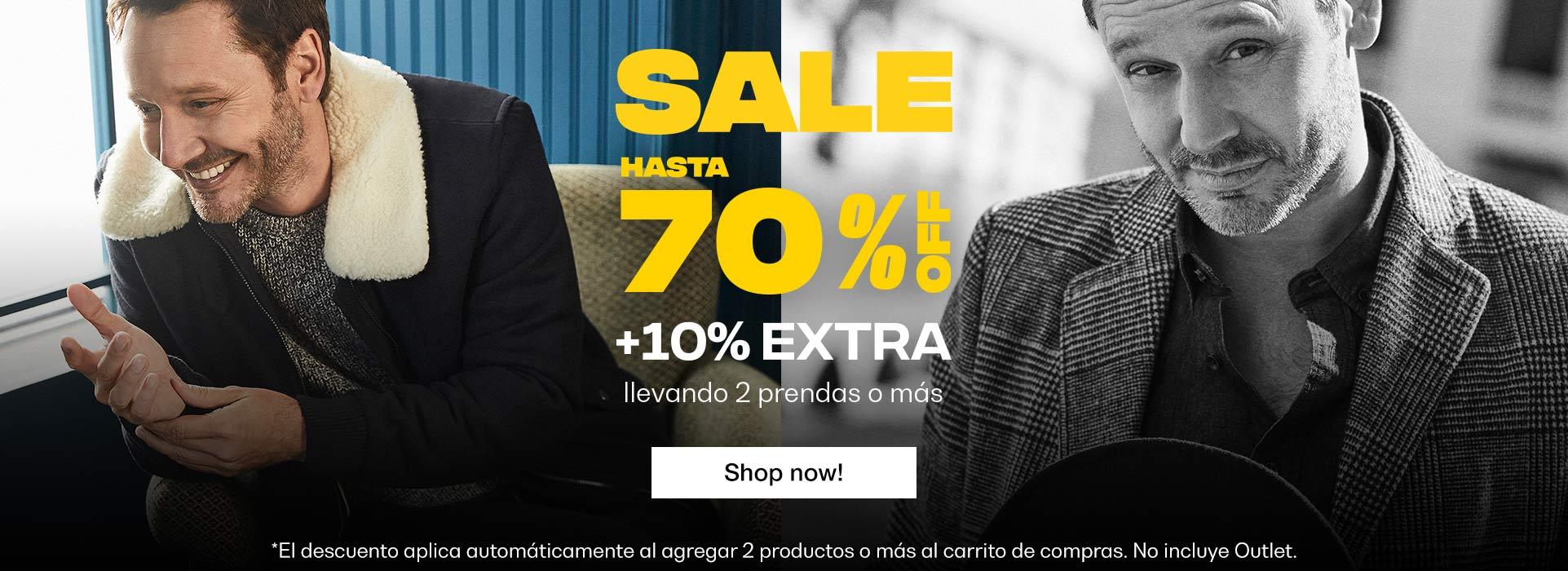 SALE 70% + 10%